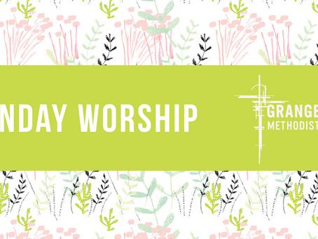 Sunday Worship - Sunday 7th June