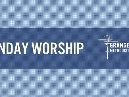 Sunday Worship - Sunday 21st March