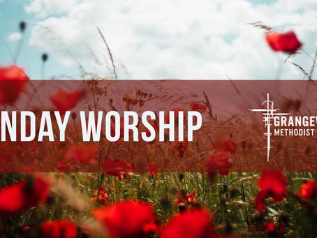 Sunday Worship - Sunday 8th November