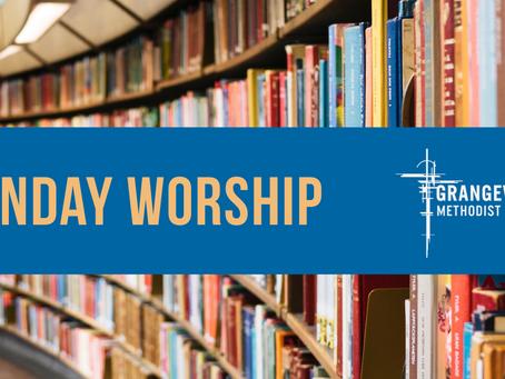 Sunday Worship - Sunday 13th Sept