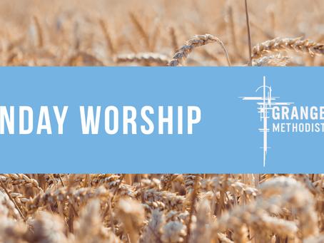 Sunday Worship - Sunday 14th June