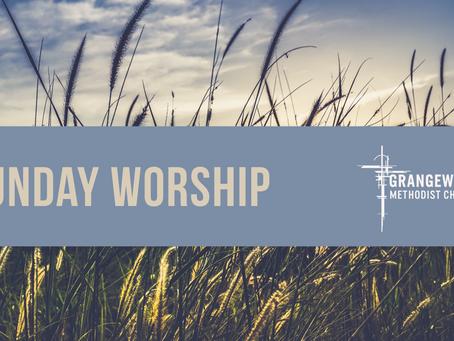 Sunday Worship - Sunday 19th July