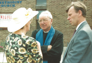 Betty Grimley, Ron Matters, Geoff Savill