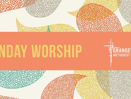 Sunday Worship - Sunday 26th July
