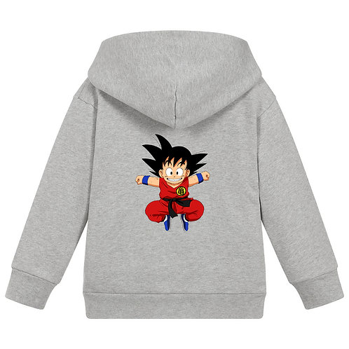 Goku Grey Hoodie