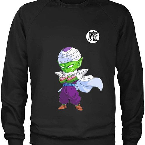 Piccolo Black Crewneck