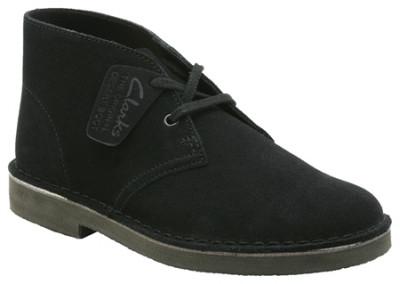 """卒・入園入学のお子様のお足元に優しく、""""大人も一緒に欲しいデザイン""""Clarks ORIGINALS (クラークス オリジナルズ)の2012年春夏コレクション Desert Boot Black (デ"""