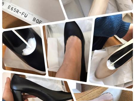 新宿伊勢丹でオーダーしていた靴が届きました!