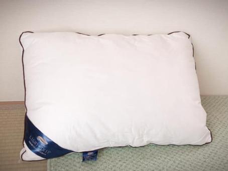 枕を変えてみました