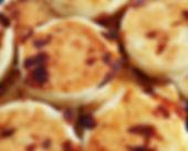 Variedad de arepas para negocios y restaurantes