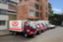 Vehículos refrigerados para entrega de pedidos
