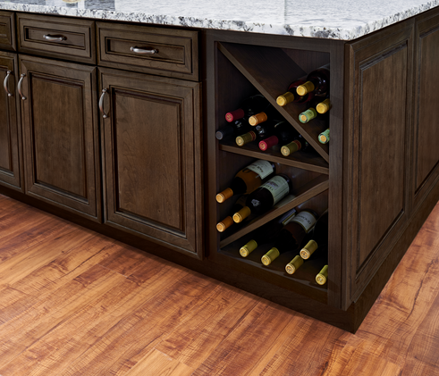 KraftMaid Wine Storage