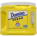 Domino Sugar Premium Pure Cane Sugar Tub