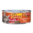 Purina Friskies Paté Chicken & Tuna Dinner in Gravy Wet Cat Food