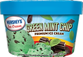 Hershey's Green Mint Chip Ice Cream