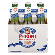 Peroni Nastro Azzurro Italy Import Beer Six Pack
