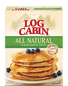 Log Cabin All Natural Pancake Mix