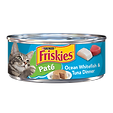 Purina Friskies Paté Ocean Whitefish & Tuna Dinner Wet Cat Food