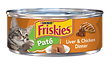 Purina Friskies Paté Liver & Chicken Dinner Wet Cat Food