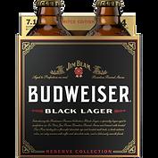 Budweiser Jim Beam Reserve Black Lager Four Pack