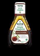Ken's Steak House Simply Vinaigrette Balsamic Salad Dressing