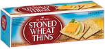 Red Oval Farms Stoned Wheat Thins Wheat Crackers