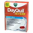 DayQuil Severe Cold & Flu 24 Liquid Caps