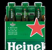 Heineken Lager Beer Six Pack