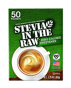 Stevia in the Raw Zero Calorie Sweetener 50 Packets