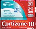 Cortizone-10 Cooling Gel Formula Itch Relief
