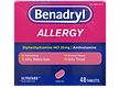 Benadryl Allergy Relief Tablets