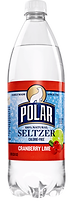 Polar Cranberry Lime Seltzer One Liter