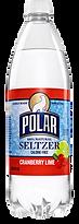 Polar Cranberry Lime Seltzer One Liter