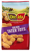 Ore-Ida Golden Tater Tots Seasoned Shredded Potatoes