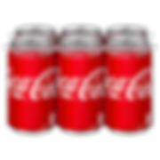 Coca Cola Six Pack Cans