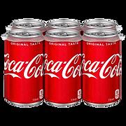 Coca Cola Six Pack Cans