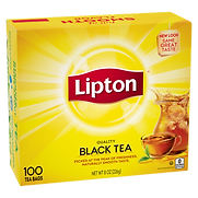 Lipton Quality Black Tea 100 Tea Bags
