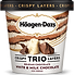 Haagen-Dazs Trio Belgian Chocolate White & Milk Chocolate Ice Cream