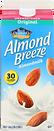 Almond Breeze Almond Milk Original Unsweetened Half Gallon