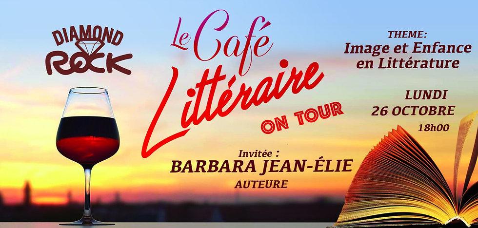 Café Littéraire avec l'auteur Barbara JEAN-ELIE