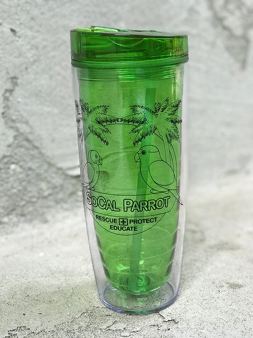 SoCal Parrot Drink Tumbler