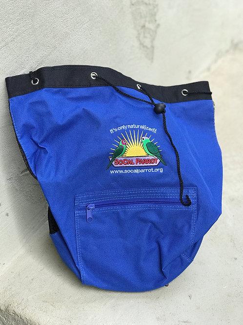 SoCal Parrot Drawstring Beach Bag