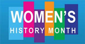 Womens history month logo