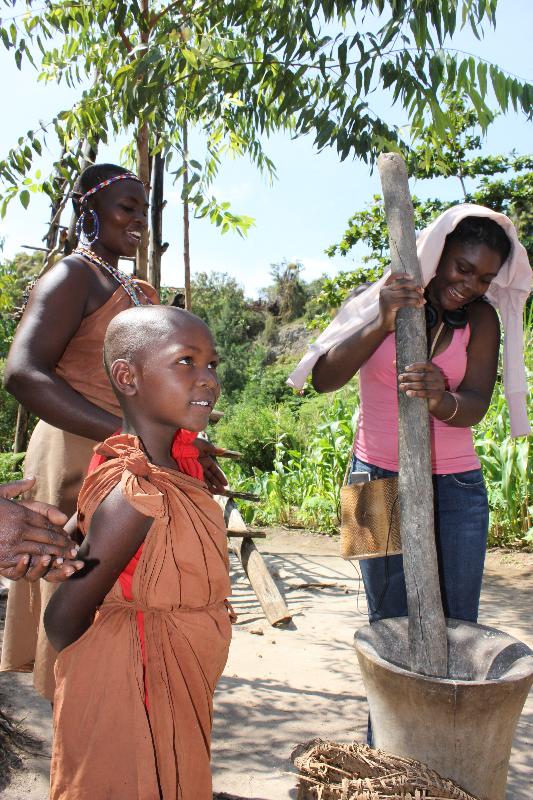 HSGC Students visit Kenya, 2011