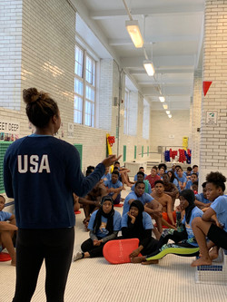 Swim Clinic with Olympic medalist Lia Neal