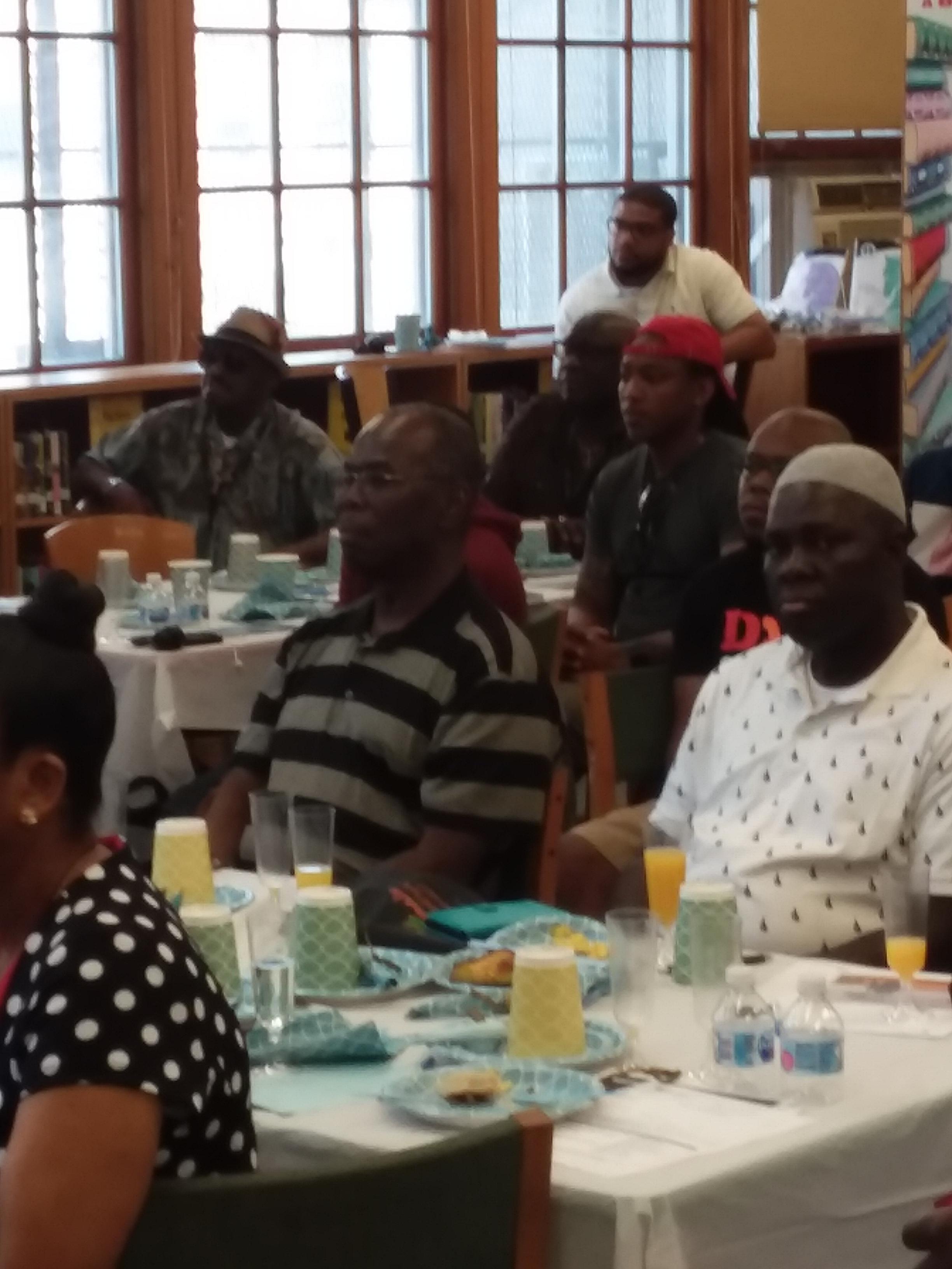 Brooklyn Borough President at HSGC Fathe