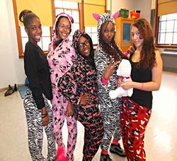 School Spirit Week, Pajama Day