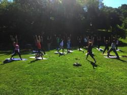 Chancellor's PD Day, Yoga