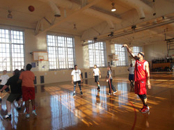 Staff v. Student Basketball Game