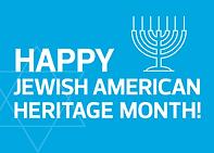 Jewish American month poster